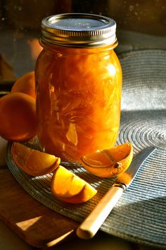 THIS IS ALTON BROWN'S RECIPE THAT I USED TO MAKE MY OWN ORANGE MARMALADE  http://ceciliarosslee.blogspot.com/p/cuisine.html