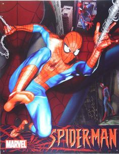 """Marvel - Spiderman Tin Sign 12.5""""W x 16""""H , 13x16 by Poster Revolution. $8.99. Tin Sign Title: Marvel - Spiderman Tin Sign 12.5""""W x 16""""H. Size: 13 x 16 inches. The tin sign is just one the hundreds of high-quality wall décor products offered to help you decorate in your own unique style. Items like Marvel - Spiderman Tin Sign 12.5""""W x 16""""H enhance any interior and match your budget and style!"""