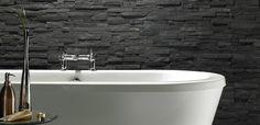 Slate Tile Bathroom Ideas  http://thebestinterior.com/1215-slate-tile-bathroom-ideas