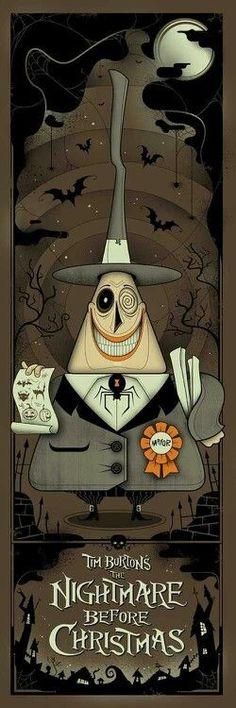 Illustration - The Nightmare Before Christmas Poster - Tim Burton Omg Posters, Movie Posters, Art Tim Burton, Tim Burton Films, Desenhos Tim Burton, Plakat Design, Arte Horror, Grafik Design, Jack Skellington