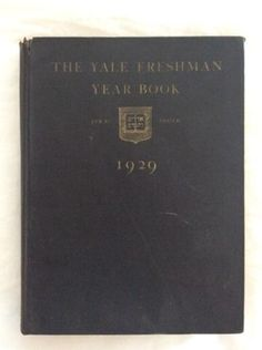 Class-1929-Yale-Freshman-College-Year-Book-Yearbook