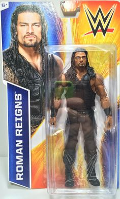 (TAS031804) - 2014 Mattel WWF WWE Wrestling Action Figure - Roman Reigns