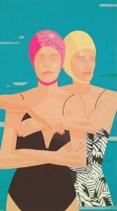 Alex Katz (nació en Brooklyn, New York 24 de julio de 1927), pintor, es uno de los precursores del arte pop. Ingresó en 1946 en la Cooper Union School of Art and Architecture.Su obra caracteriza por sus composiciones planas, es conocido por sus siluetas o 'cutouts', retratos pintados sobre madera recortada, que lleva realizando desde los años 60. Su obra esta en el MoMA, el Whitney Museum, el Metropolitan Museum, el Centre Georges Pompidou, la Tate Gallery o el Museo Reina Sofía.