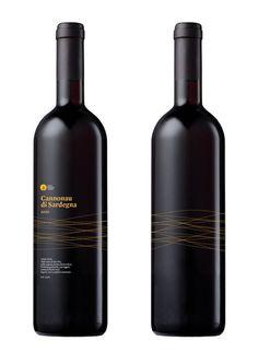 Cannonau di Sardegna. wine vino vinho #wine #branding #design