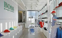 Hugo Boss - Boss Green Truck mobile store by LIGANOVA