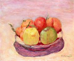 Bowl of Fruit, Pierre Bonnard  Art Experience NYC  www.artexperiencenyc.com