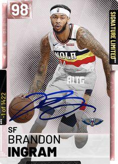 Nba Basket, Brandon Ingram, Card Creator, Player Card, New Orleans Pelicans, Nba Players, Sport Man, Custom Cards, Swag Outfits