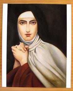 Santa Teresa D'Avila  Sandra Benício