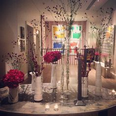 A bloggers dream happened upon at the @we_are_the_clique networking event tonight at The Ham Yard Hotel - #flowers  #marble  #colour  #texture  #candle  #ceramic  #shadesofgrey  #monochrome  #art  Great event guys - thanks for hosting  #networking #hamyardhotel #wearetheclique #womeninbusiness #girlboss #mentoring #motivation #blogger #bloggers #bloggerlife #london #weddingplanner #weddingstylist #weddingtasker #weddingblog #weddingblogger #devinebride