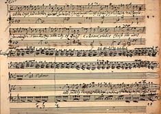 George Frideric Handel's autograph draft score of Messiah, 1741 (The Granger Collection, New York)