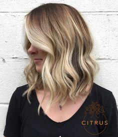 """102 Likes, 3 Comments - Citrus Salon (@citrussalon) on Instagram: """"Blonde lobbin' by #TessaAtCitrus #blonde #avedablonde #blondebalayage #balayage #instablonde…"""""""