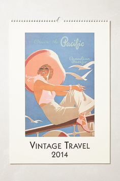 Vintage Travel Poster | Anthropologie