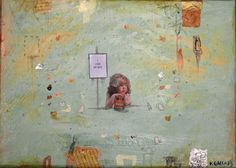 I Love my Mite By Veronica Green #art #artist #painting #NewZealand #veronicagreenarte Green Art, Artist Painting, Veronica, New Zealand, Paintings, My Love, Painting Art, Painting, Painted Canvas