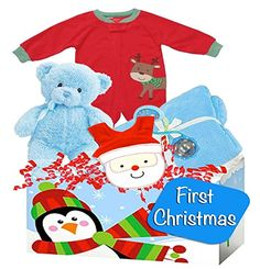 Amazon.com  Baby Boy s First Christmas Gift with Carter s Christmas Pajamas 4f847c14f