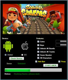 Subway Surfers Hack Tools Online