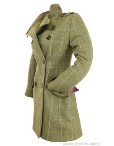 0842c00f195 Beaver of Bolton Ladies  Brecon Military Tweed Jacket - Green Pink Blue