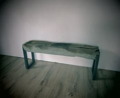 Indoor Drift Wood Bench by MatHibbertDesigns on Etsy, £700.00