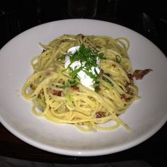 """""""Spaghetti Carbonara is amazing. Maybe my favorite pasta dish on the planet. I promise you won't regret it."""" - Andrew"""