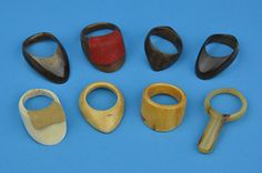 Fine group of Archer's Thumb Rings