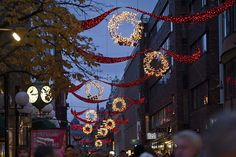Finro's www.finro.ca partner - MK #Illumination, #Austria has helped #Stockholm to strengthen its international appeal over the festive period with the development and #installation of one of #Europe's largest #Christmas #lighting #displays.