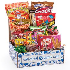 Universal Yums – Snacks from a different country delivered monthly