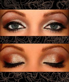 So simple yet so pretty! Possible wedding makeup, I would add false lashes to pick it up a bit