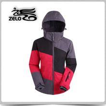 2015 niños del invierno del esquí y chaqueta más el tamaño