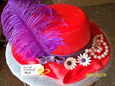 red hatter cake!