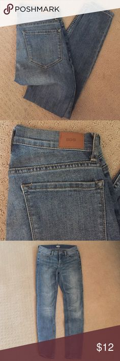 BDG light wash jeans Bought at urban outfitters. Mid rise twig Urban Outfitters Jeans Boot Cut