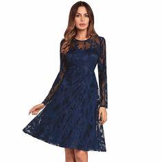 0f149f3cc4c Long Sleeve Lace Dress on Luulla Summer Dresses For Women