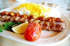 persian food #food #persian #delicious #persian kabobs #rice