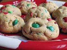 Peanut Butter M & M Cookies