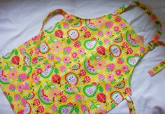 Classic Kids Apron with Pockets  Adjustable by FindUrHappyPlace, $15.00