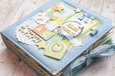 Cardmaking by Annie: Нарядный альбомчик для мальчика