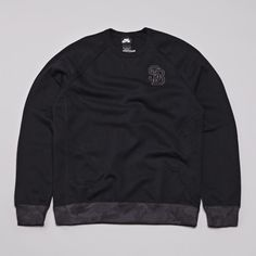 Nike SB Northrup Crewneck Fleece Sweatshirt Black / Black | Flatspot