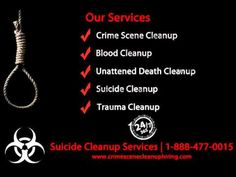 Suicide Cleanup Lewisville TX, 1-888-629-1222 | Lewisville Crime Scene Cleanup