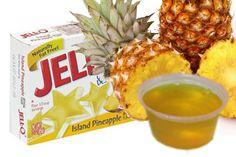 Island Pineapple Coconut Jello Shots