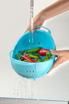 Food Strainers Strainer Bowl   Material : Plastic  Size : Free Size  Description : It Has 1 Piece Of Strainer Bowl Sizes Available: Free Size *Proof of Safe Delivery! Click to know on Safety Standards of Delivery Partners- https://ltl.sh/y_nZrAV3  Catalog Rating: ★3.8 (533)  Catalog Name: Basic Trendy Kitchen Storage Vol 1 CatalogID_338831 C135-SC1649 Code: 032-2518255-