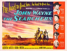 THE SEARCHERS Christie's Vintage Film Posters