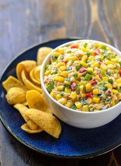 Skinny Mexican Corn Dip