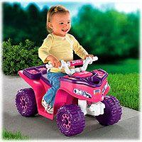 "Power Wheels Fisher-Price Barbie Lil Trail Rider ATV Girls Sport Quad - Power Wheels - Toys ""R"" Us"