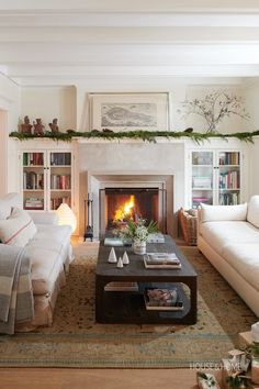 Grab a cuppa, cozy up by the fire and enjoy these rooms that will make a homebody out of you.