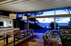 Raumati Beach House in New Zealand by Herriot + Melhuish in architecture Category
