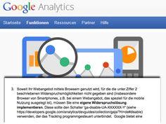Wer Google Analytics nutzt und reine mobile Websites sowie mobile Apps einsetzt, der sollte - so RA Schwenke - am besten schon heute die beschriebene Opt-out-Lösung umsetzen. Wie das beim Einsatz von responsiven Layouts aussieht, wird man abwarten müssen. Um nicht in Abmahngefahr zu geraten, sollte man die Diskussion aber auf jeden Fall beobachten und bei einer Entscheidung schnell reagieren!