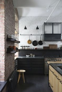 A Rugged, Rustic NYC Loft by Matt Bear of Union Studio