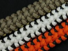 How to make a Boneyard Bar Paracord Bracelet Tutorial (Paracord 101) - YouTube