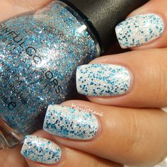 SinfulColors ice dream over white