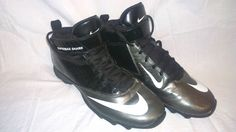 Nike Super Bad Shark Football or Lacrosse Cleats Shoes 8 Youth Boys or Girls #Nike #AthleticTurfFootballLacrosse