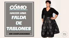 80c51e45b Las 18 mejores imágenes de falda de tablones | Diy clothing, Dress ...