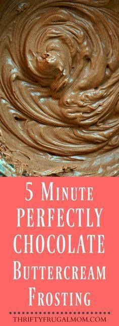 This easy chocolate This easy chocolate buttercream frosting...  This easy chocolate This easy chocolate buttercream frosting recipe is the best! It takes just 5 minutes to make and is the perfect amount of rich chocolate flavor. Recipe : http://ift.tt/1hGiZgA And @ItsNutella  http://ift.tt/2v8iUYW